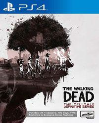 Portada oficial de The Walking Dead: The Telltale Definitive Series para PS4