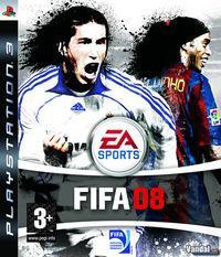 Portada oficial de FIFA 08 para PS3