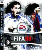 Portada oficial de de FIFA 08 para PS3