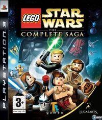 Portada oficial de LEGO Star Wars: The Complete Saga para PS3
