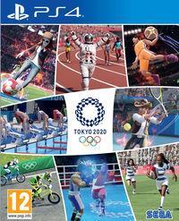 Portada oficial de Juegos Olímpicos de Tokyo 2020: El videojuego oficial para PS4