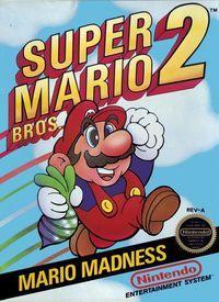 Portada oficial de Super Mario Bros 2 CV para Wii