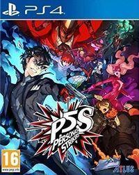 Portada oficial de Persona 5: Strikers para PS4