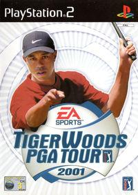 Portada oficial de Tiger Woods PGA Tour 2001 para PS2