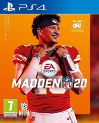 Portada oficial de Madden NFL 20 para PS4