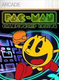 Portada oficial de Pac-Man Championship Edition para Xbox 360