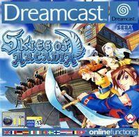 Portada oficial de Skies of Arcadia para Dreamcast