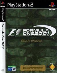Portada oficial de Formula One 2001 para PS2
