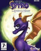 Portada oficial de de La Leyenda de Spyro: La Noche Eterna para PS2