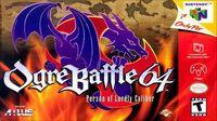 Portada oficial de Ogre Battle 64: Person of Lordly Caliber para Nintendo 64