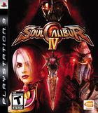 Portada oficial de de Soul Calibur IV para PS3