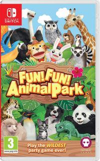 Portada oficial de FUN! FUN! Animal Park para Switch