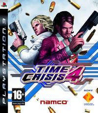 Portada oficial de Time Crisis 4 para PS3