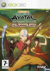 Portada oficial de Avatar: Burning Earth - The Last Airbender para Xbox 360