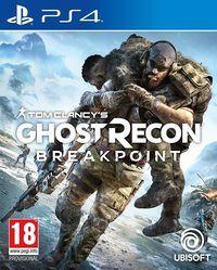 Portada oficial de Ghost Recon Breakpoint para PS4