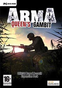 Portada oficial de ArmA: Queen's Gambit para PC