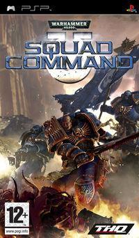 Portada oficial de Warhammer 40.000: Squad Command para PSP