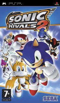 Portada oficial de Sonic Rivals 2 para PSP