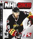 Portada oficial de de NHL 2K8 para PS3