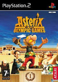 Portada oficial de Asterix en los Juegos Olímpicos para PS2