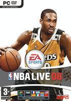 Portada oficial de de NBA Live 08 para PC