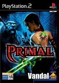 Portada oficial de Primal para PS2