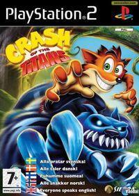 Portada oficial de Crash: Lucha de Titanes para PS2