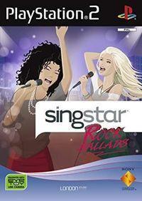 Portada oficial de Singstar Rock Ballads para PS2
