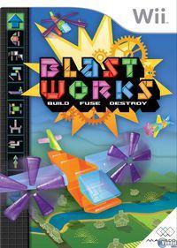 Portada oficial de Blast Works: Build, Fuse & Destroy para Wii