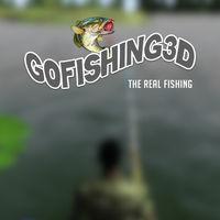 Portada oficial de GoFishing 3D para Switch
