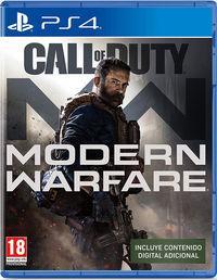 Portada oficial de Call of Duty: Modern Warfare (2019) para PS4