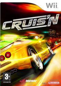 Portada oficial de Cruis'n para Wii
