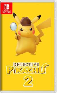 Portada oficial de Detective Pikachu 2 para Switch
