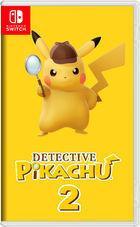 Portada oficial de de Detective Pikachu 2 para Switch