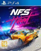 Portada oficial de de Need for Speed Heat para PS4