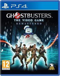 Portada oficial de Ghostbusters: The Video Game Remastered para PS4