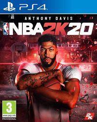 Portada oficial de NBA 2K20 para PS4