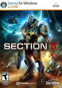 Portada oficial de Section 8 para PC