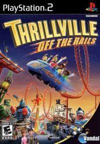 Portada oficial de Thrillville: Off the Rails para PS2
