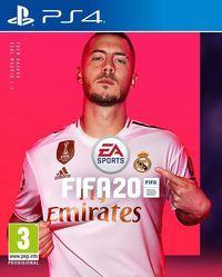 Portada oficial de FIFA 20 para PS4
