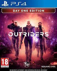 Portada oficial de Outriders para PS4