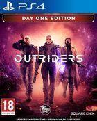 Portada oficial de de Outriders para PS4