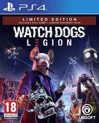 Portada oficial de Watch Dogs Legion para PS4