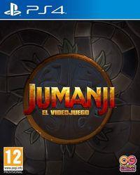 Portada oficial de Jumanji: The Video Game para PS4