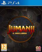 Portada oficial de de Jumanji: The Video Game para PS4