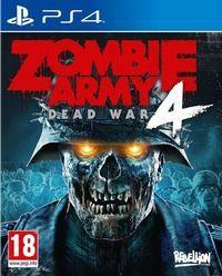 Portada oficial de Zombie Army 4: Dead War para PS4