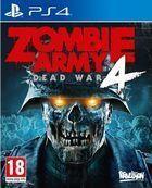 Portada oficial de de Zombie Army 4: Dead War para PS4