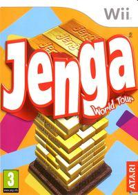 Portada oficial de Jenga para Wii