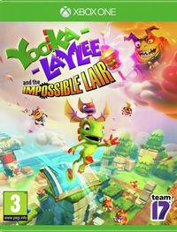 Portada oficial de Yooka-Laylee and the Impossible Lair para Xbox One