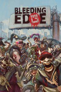 Portada oficial de Bleeding Edge para Xbox One